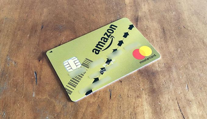 Amazon MasterCard ゴールド カード