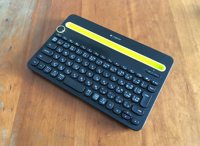ロジクール Bluetooth マルチデバイス キーボード K480