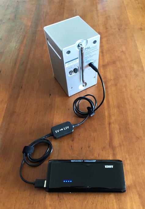 Amazon Echo Dot Tivoli Audio iPAL USB電圧変換器 モバイルバッテリー